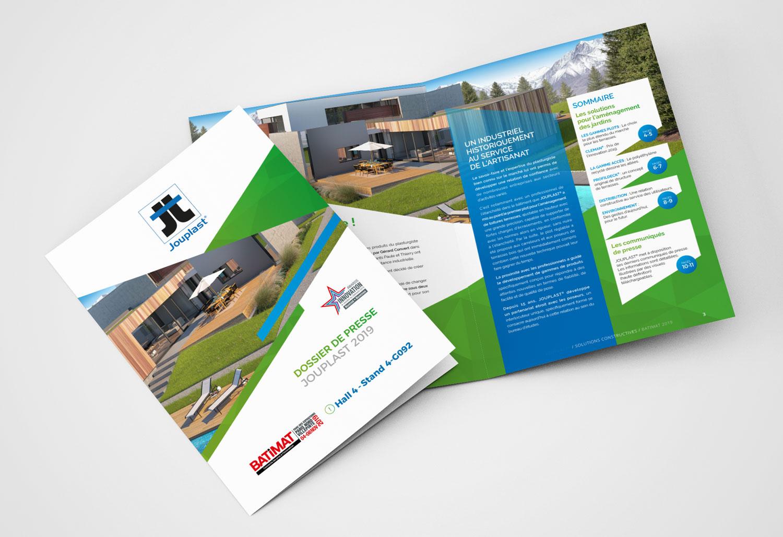 Design Couverture Dossier Presse