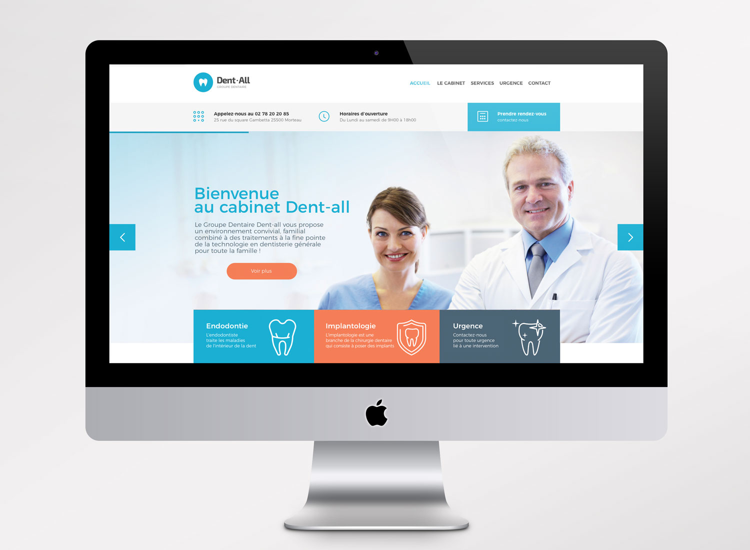 Webdesign Site Internet Orthodontiste