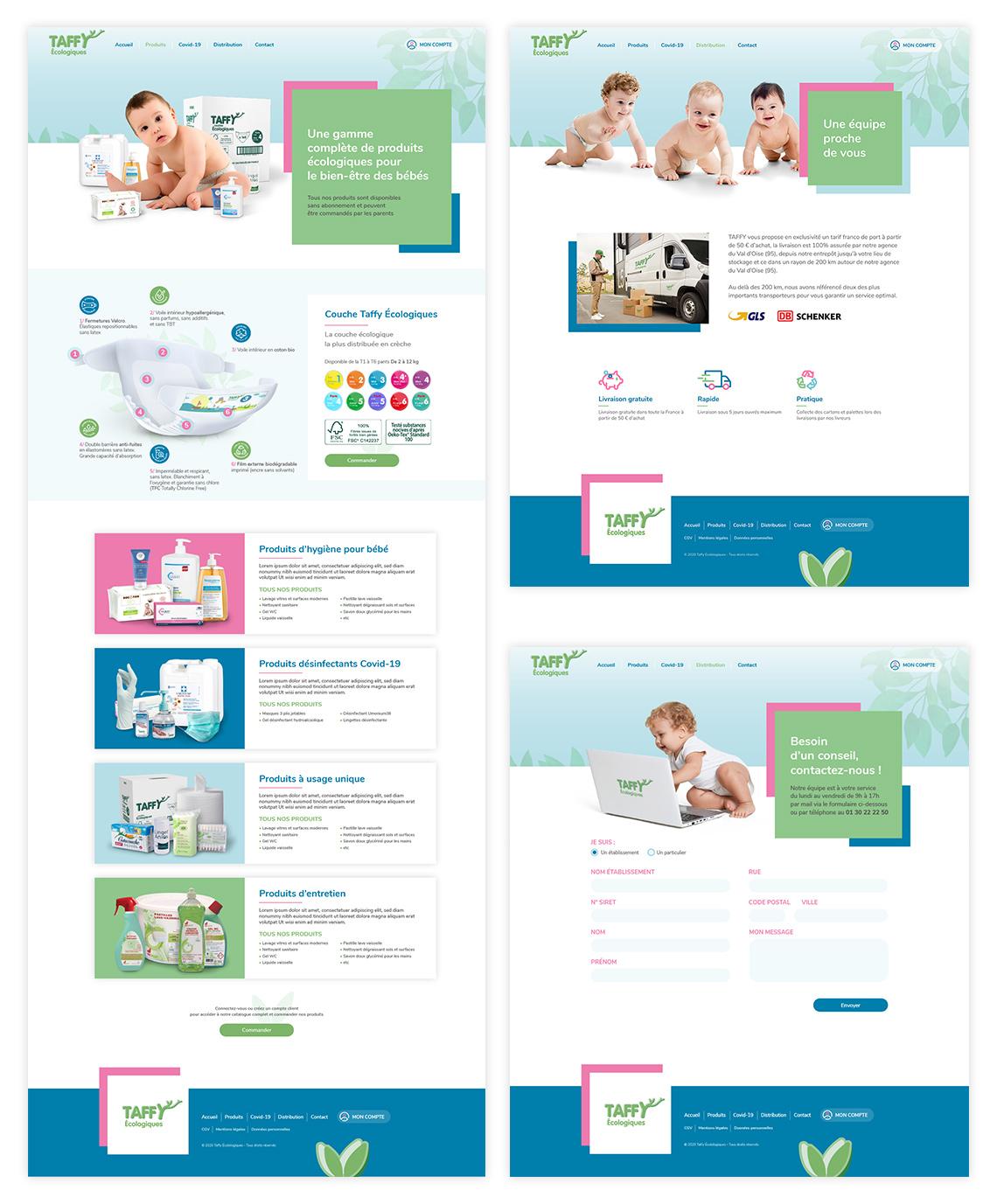 Création Site Web Enfants